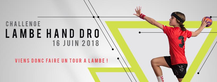Challenge Lambe Hand Dro – 16 juin 2018